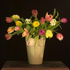 Op moderne tulpenvaas - Foto Alice Valk.jpg